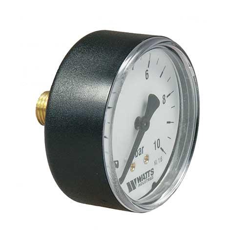 """Rohrfeder Manometer mit Axialanschluss 1/4""""-0"""