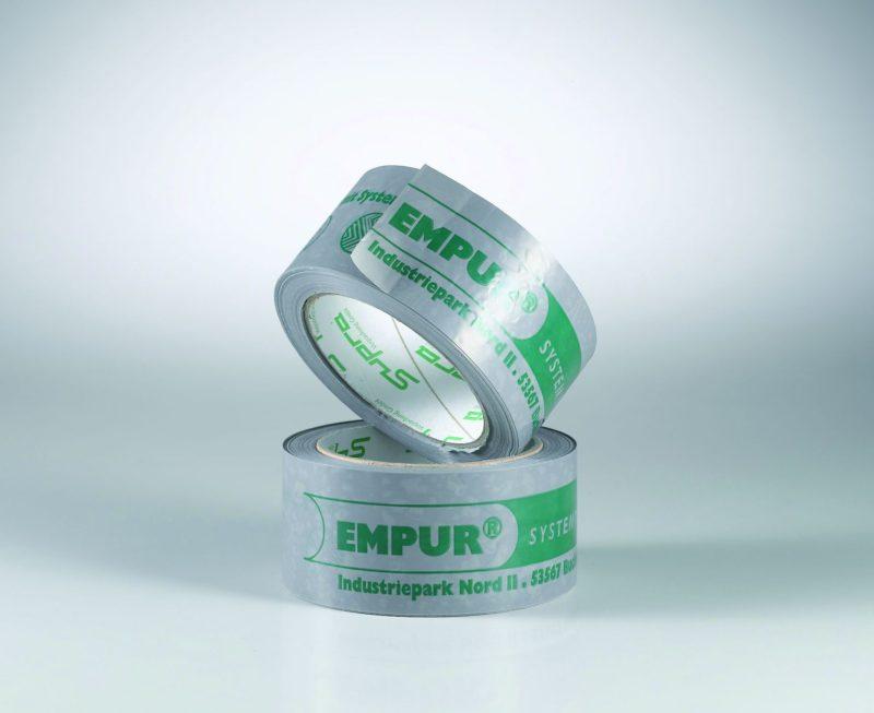 Kunststoff-Klebeband von Empur 66m-Rolle zum Verkleben von Dämmplatten der FBH -0