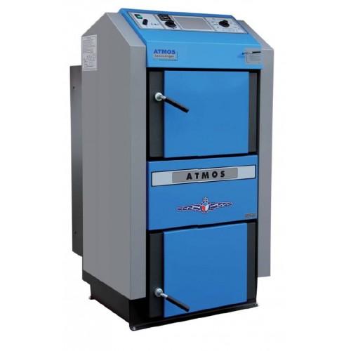 Atmos Holzvergaser Kessel GSE 19 - 49 KW, Festbrennstoff Holzvergaserkessel-0