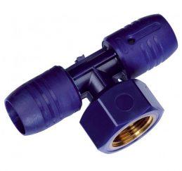 Wavin smartFIX Steckfitting T-Stück Abgang Innengewinde 16 und 20mm-0