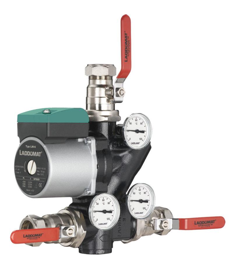 Laddomat 21 - Rücklaufanhebung für Festbrennstoffkessel, verschiedene Ausführungen-2669