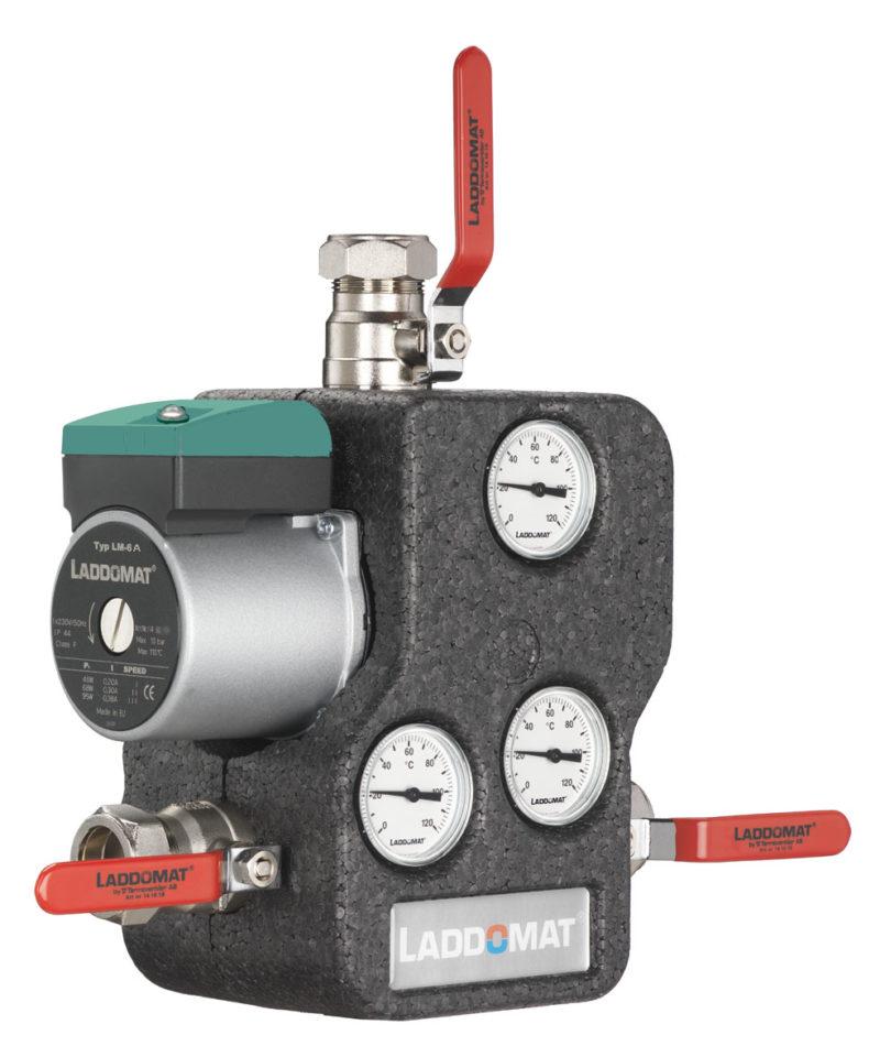Laddomat 21 - Rücklaufanhebung für Festbrennstoffkessel, verschiedene Ausführungen-0