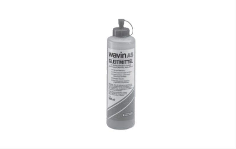 Wavin AS Gleitmittel, für alle Abwasserrohre geeignet, Flasche a. 500ml -0