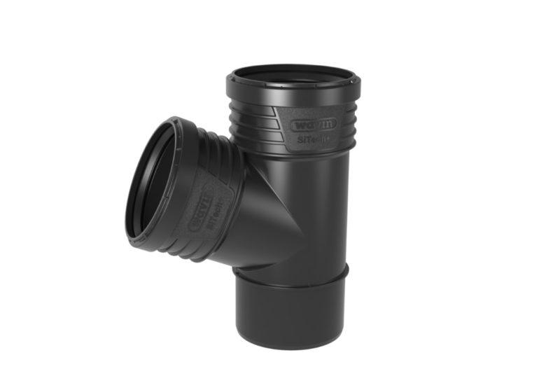 Wavin SiTech+ Schallgedämmtes Abwassersystem, Abzeig 67,5°, verschiedene Größen-0
