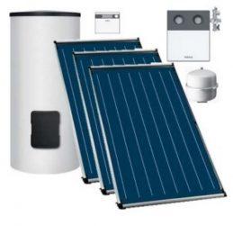 Buderus Logaplus Solarpaket OS66 mit Solarkollektoren und Trinkwasserspeicher SMB 300Ltr.-0