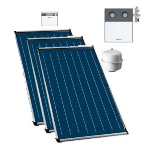 buderus logaplus trinkwasser solarpaket mit 2 solarkollektoren ckn2 0 s f r den 2 4 personen. Black Bedroom Furniture Sets. Home Design Ideas