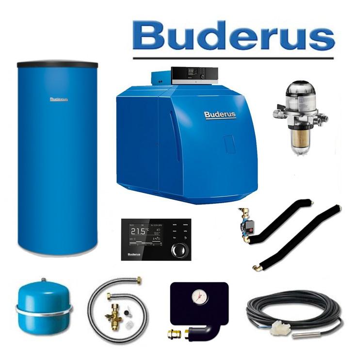 Buderus Ölheizkessel Komplettpaket