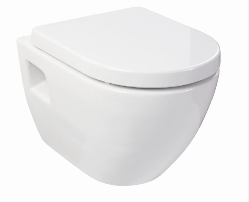 Design Wand WC- Set inkl.WC-Sitz mit Absenkautomatik-0