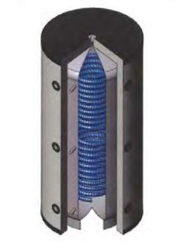 Atmos Kombi-Pufferspeicher PSWR / PSWRR zur hygienischen Warmwasserbereitung und Solareärmetauscher-0