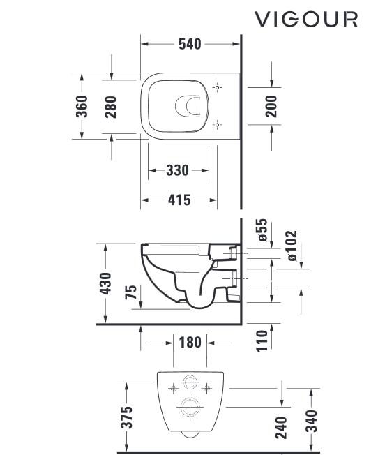 wand tiefsp l wc komplett set sp lrandlos derby shk markt 24. Black Bedroom Furniture Sets. Home Design Ideas