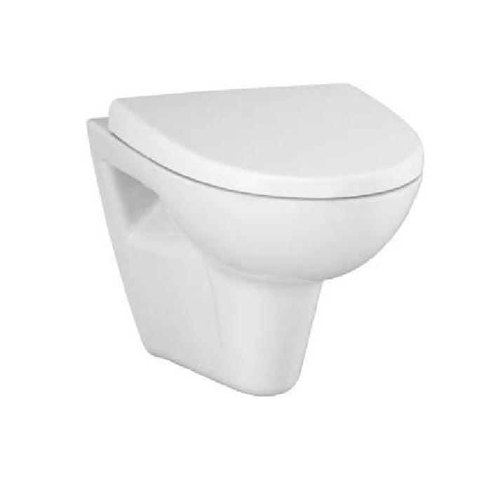 Spülrandloses Design Wand WC- Set inkl.WC-Sitz mit Absenkautomatik-0