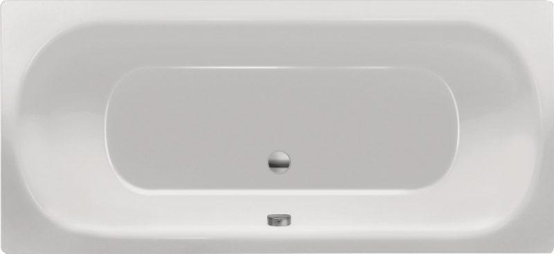 Chr. Schröder Rechteck-Badewanne aus Acryl Serie Alberta-0