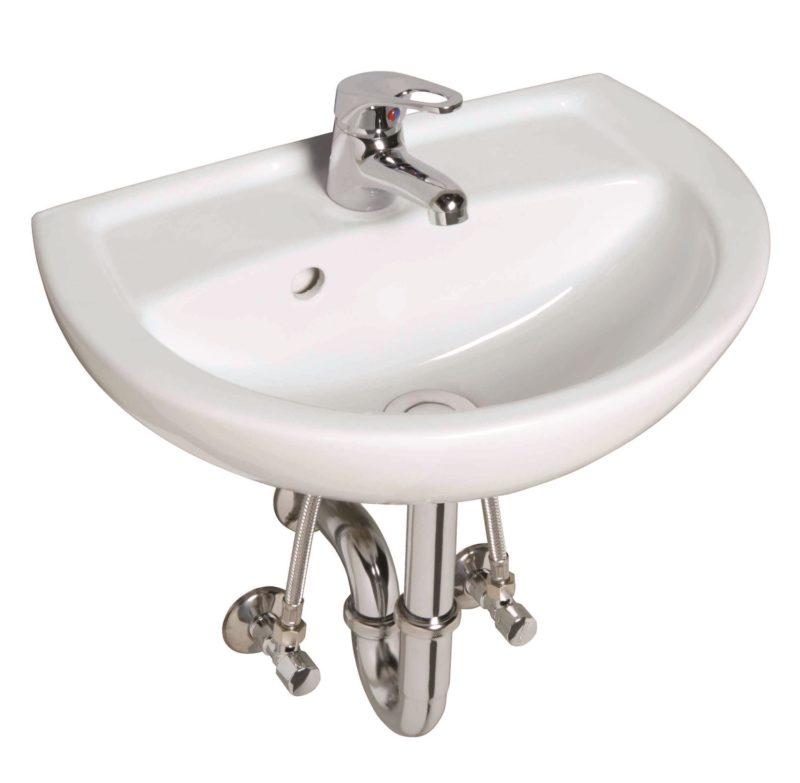 CERAVID MR CLEVER CLASSIC Handwaschbecken-Komplett-Set 450mm-0