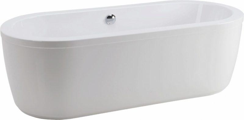 Oval-Badewanne Rhein Ausführung mit Schürze