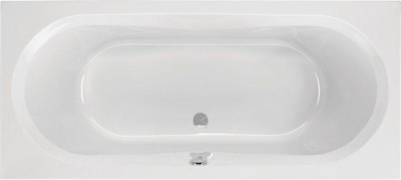 Chr. Schröder Rechteck-Badewanne aus Acryl Serie Vista-0