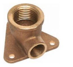 Kupfer-Lötfitting Deckenwinkel 90° 4471g mit IG, mit Deckenscheibe, aus Rotguss, verschiedene Größen bis 28mm-0