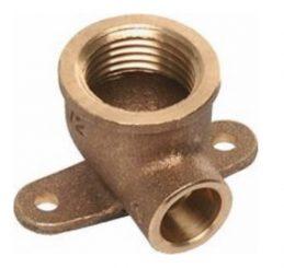 Kupfer-Lötfitting Deckenwinkel 90° 4472g mit IG, aus Rotguss, verschiedene Größen bis 22mm-0