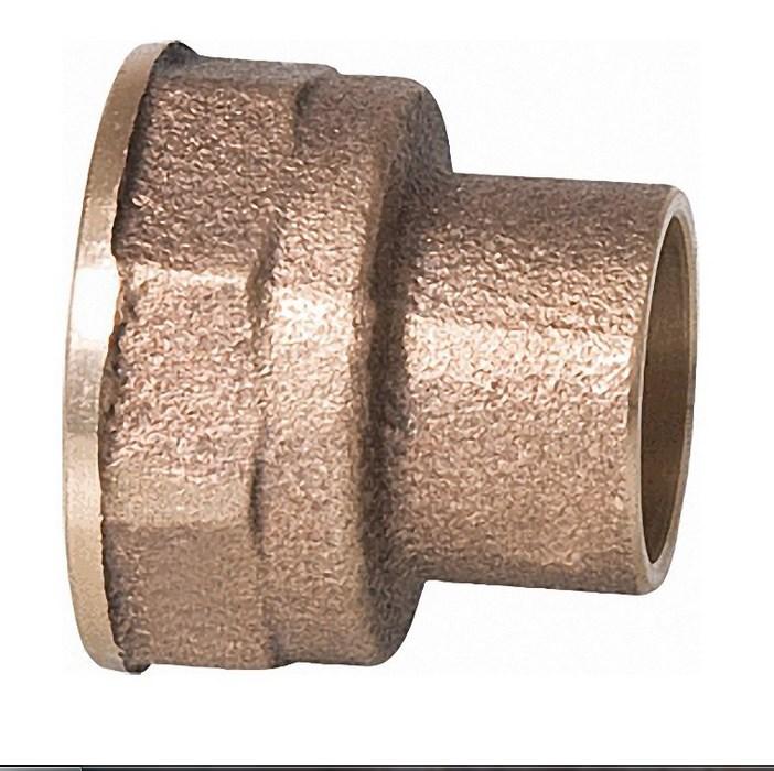 Kupfer-Lötfitting Übergangsmuffe 4270g mit IG, aus Rotguss, verschiedene Größen bis 54mm-2371