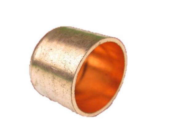 Kupfer-Lötfitting 5301 Kappe verschiedene Größen-0
