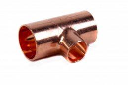 Kupfer-Lötfitting 5130 T-Stück reduziert, verschiedene Größen,verschieden reduziert-0