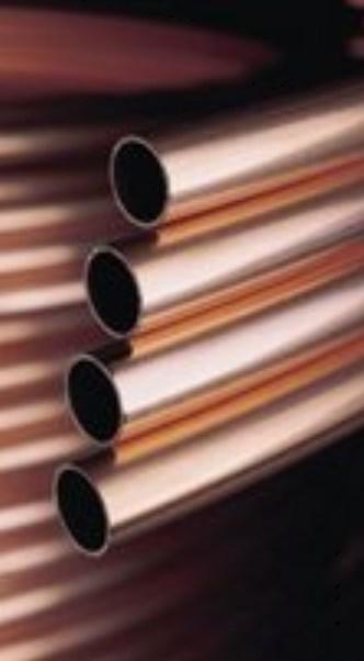 Kupferrohr RAL-DVGW EN 1057 10mm bis 54mm, 5m Stangen, 25 oder 50 Meter-2630