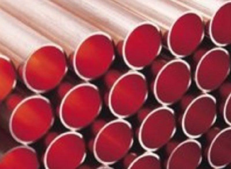 Kupferrohr RAL-DVGW EN 1057 10mm bis 54mm, 5m Stangen, 25 oder 50 Meter-0