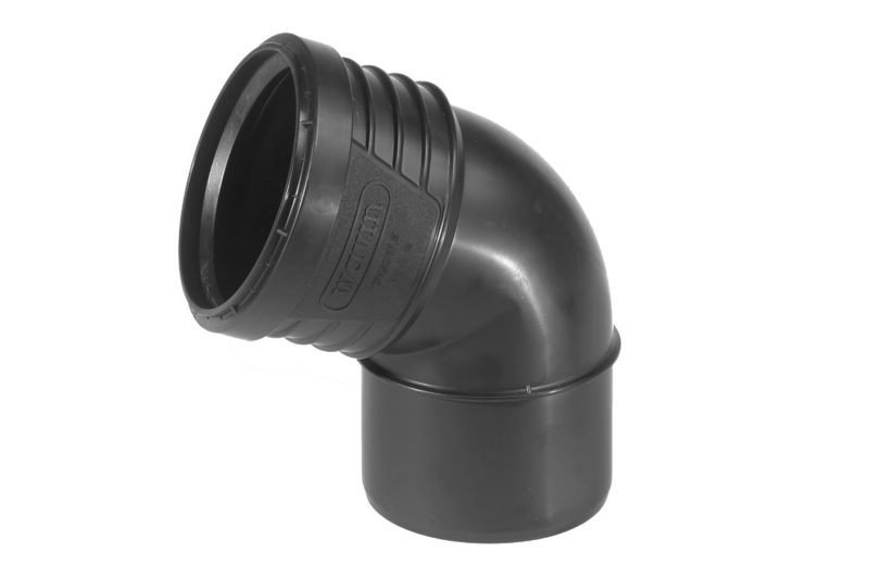 Wavin SiTech+ Schallgedämmtes Abwassersystem, Bogen 67.5°, verschiedene Größen-0