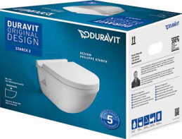 DURAVIT STARCK 3 Wand-WC Set-0