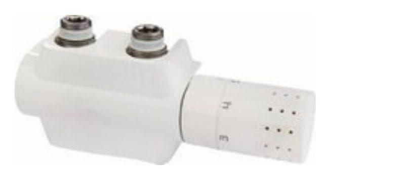 Buderus Universalarmaturen-Set für Bad-und Vertikalheizkörper mit Mittenanschluß inkl.Thermostat-0