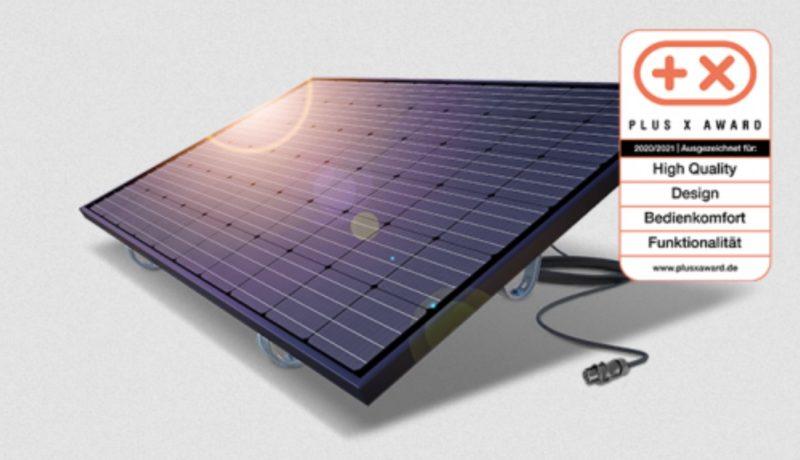 Balkonmodul Solar Photovoltaik